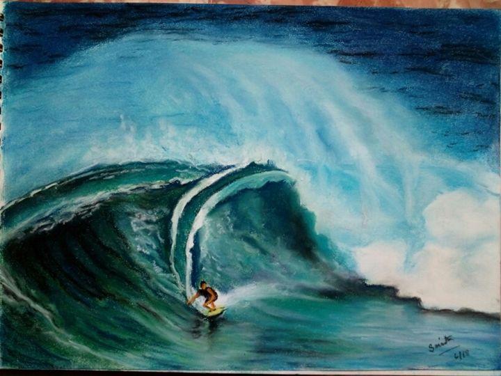 Teasing the Waves - Smita Srivastav