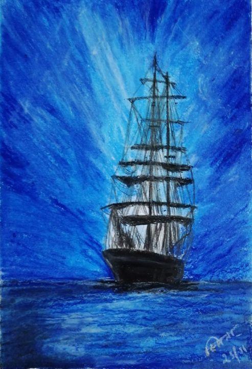 Blue sky....blue waters - Smita Srivastav