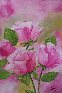 Pink Roses for Hope