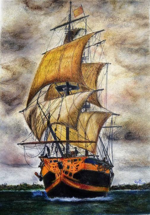 The Golden Sails - Smita Srivastav