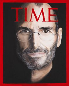 TIME, Steve Jobs by MOET