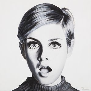 Portrait of Twiggy by MOET