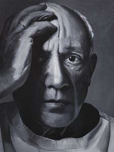 Portrait of Pablo Picasso by MOET