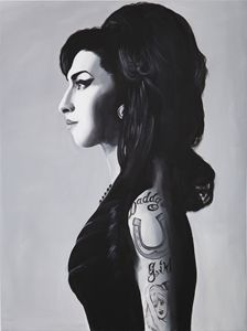 Portrait of Amy Winehouse by MOET