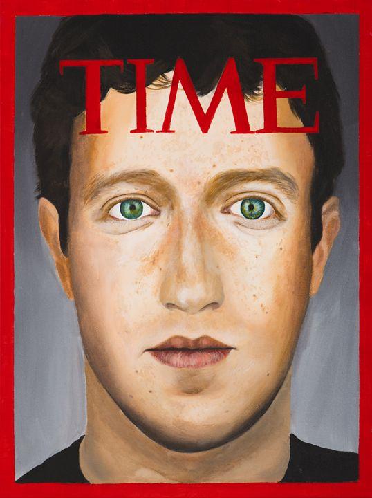 TIME, Mark Zuckerberg by MOET - Moe Notsu