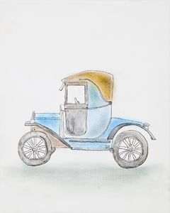 Vintage Car by MOET, Moe Notsu