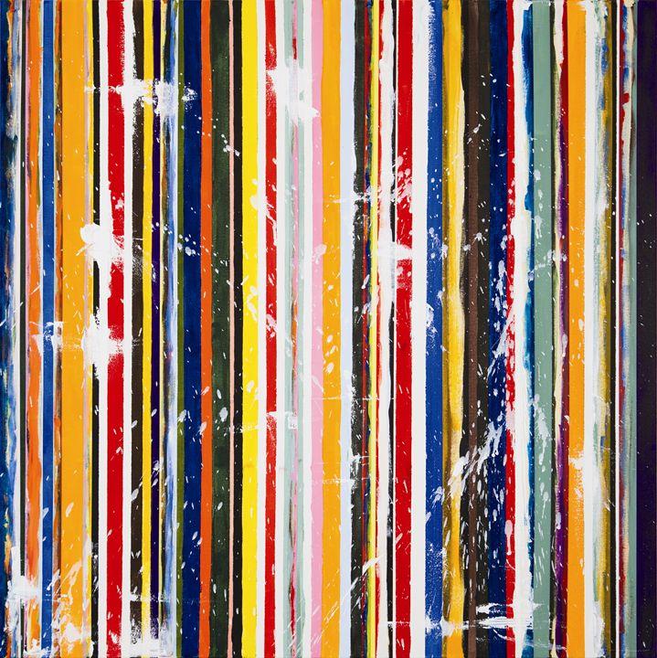 Color Stripe #2 by MOET, Moe Notsu - Moe Notsu