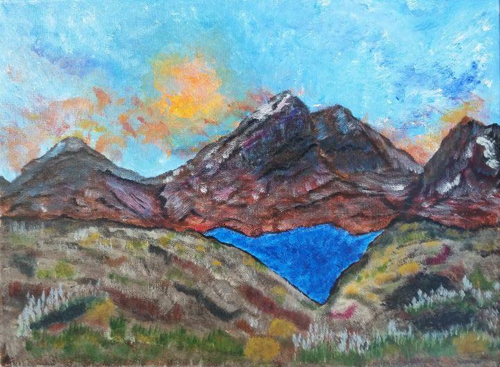 Diamond Lake - High Desert Reflection, by Julie Clayton