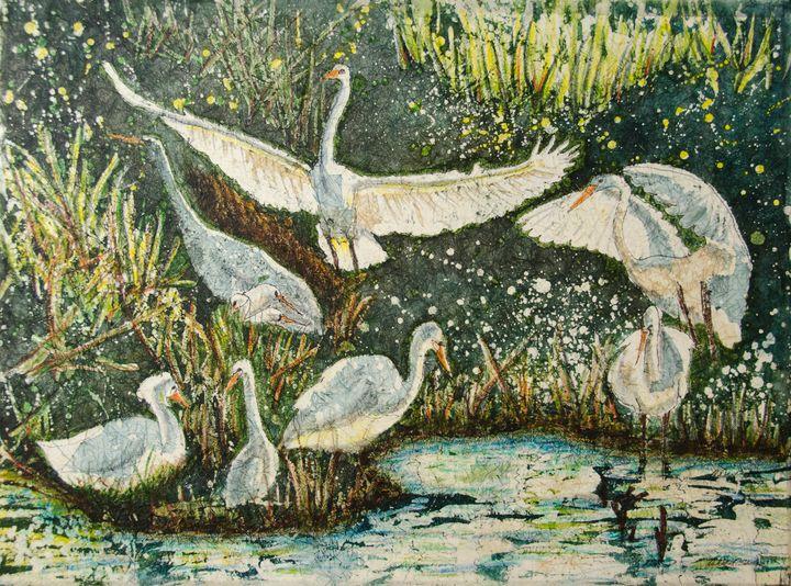 Egret Community - Whispering Pines Gallery