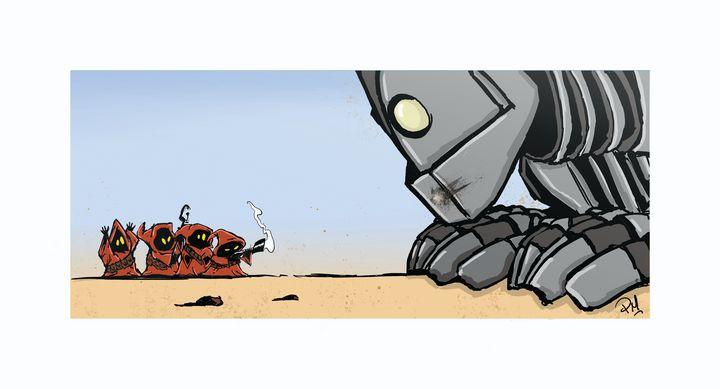 Jawa's vs the Iron Giant - PMarts