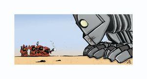 Jawa's vs the Iron Giant