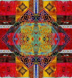 Patchwork indian