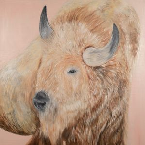 White Buffalo Spirit Animal - Amanda Lux