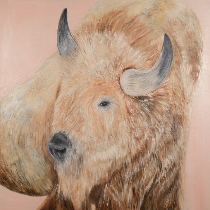 White Buffalo Spirit Animal - Amanda Lux