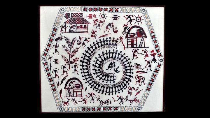 Warli tribal art - Vardaan