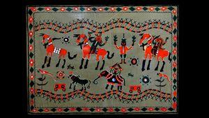 Pithora tribal art
