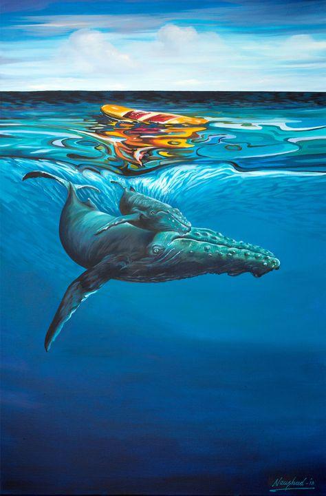 Humpback Whale - Naushadarts