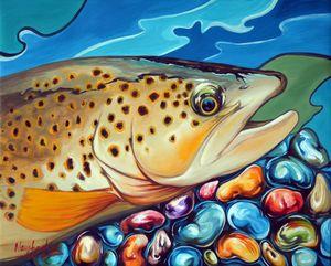 Trout 4 - Naushadarts