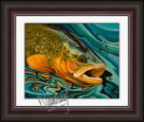 Trout Giclee Print