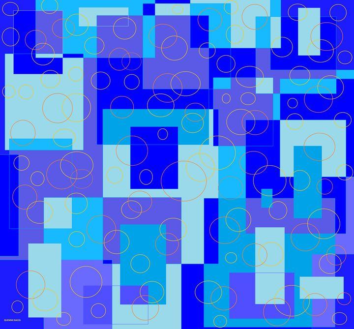 BLUE CIRCLE - QuennieBacol