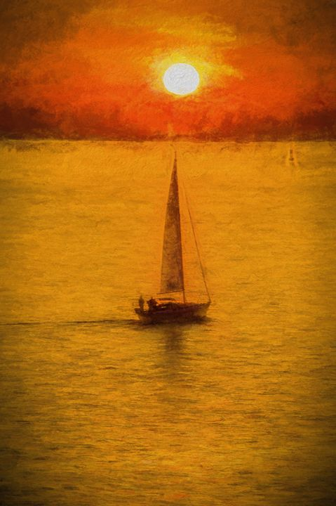 Sunset Sail to Nowhere - Beach People