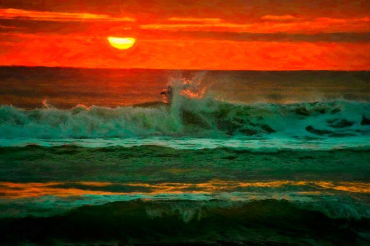 Sunrise Surfer - Beach People