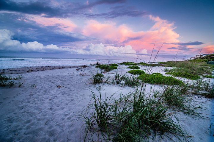 Cocoa Beach Stormy Sunset - Beach People