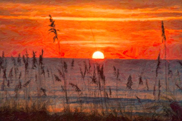 Myrtle Beach Sunrise - Beach People
