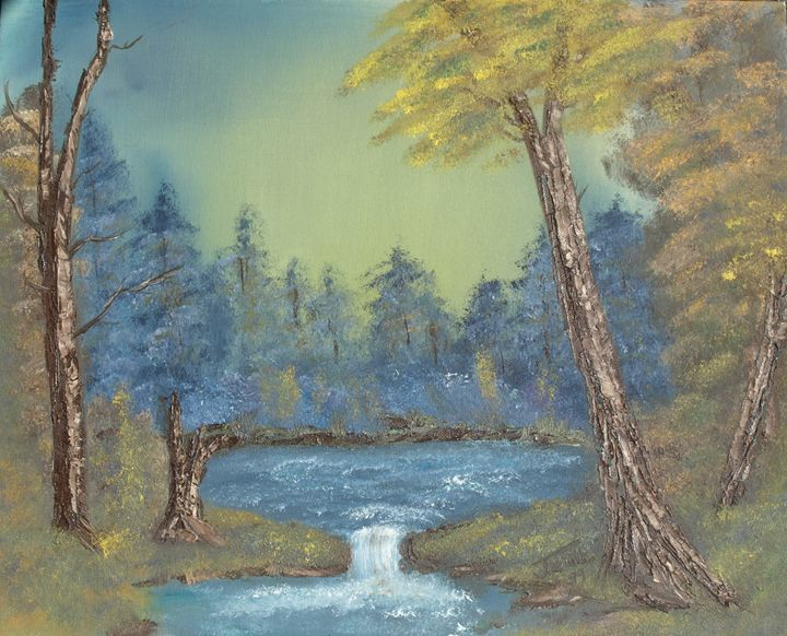 Landscape painting - Jessica Naill