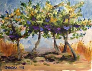 Beach Pines - Gregori Fine Art