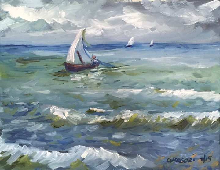 The Catch - Gregori Fine Art