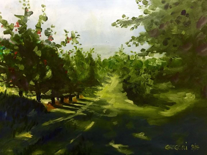 Apple Orchard - Gregori Fine Art