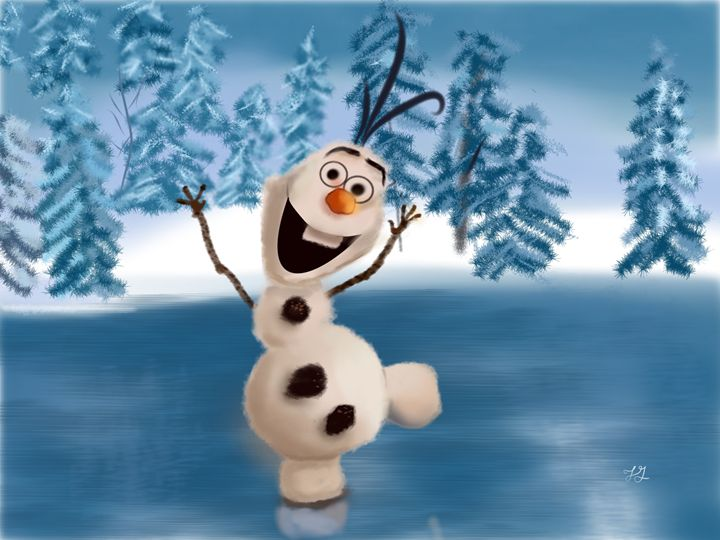 Olaf the Snowman - Ting-Ting Gronberg