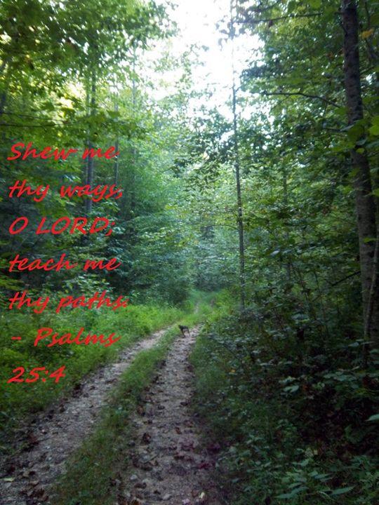 Psalms 25:4 - A. Loftis