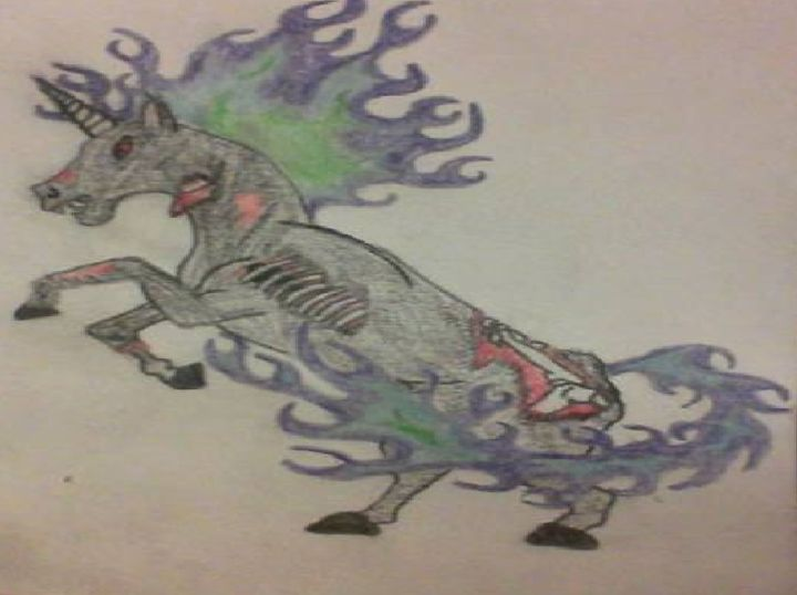 Zombie Horse - A. Loftis