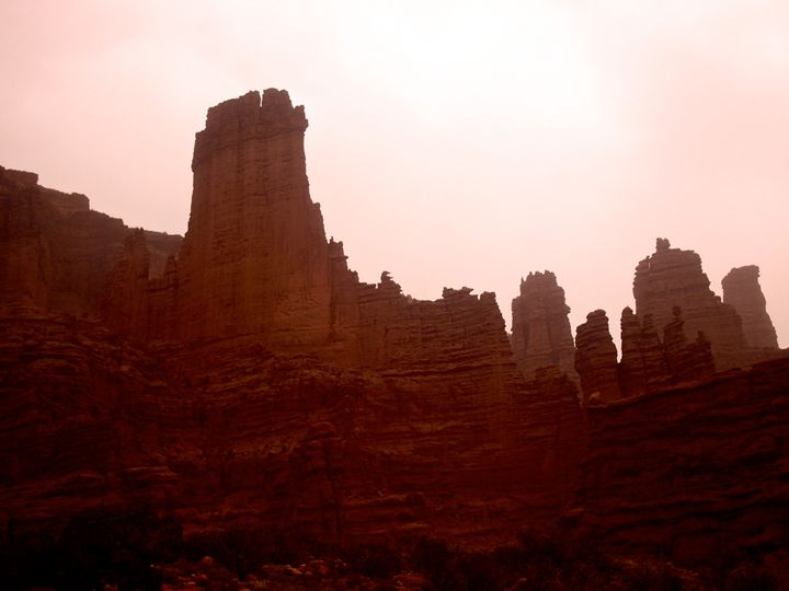 Red Rocks and Red Sky - Ben Grogan