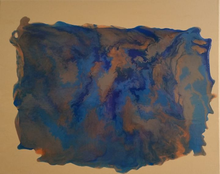 Flows of Blue and Bronze - Sloopart