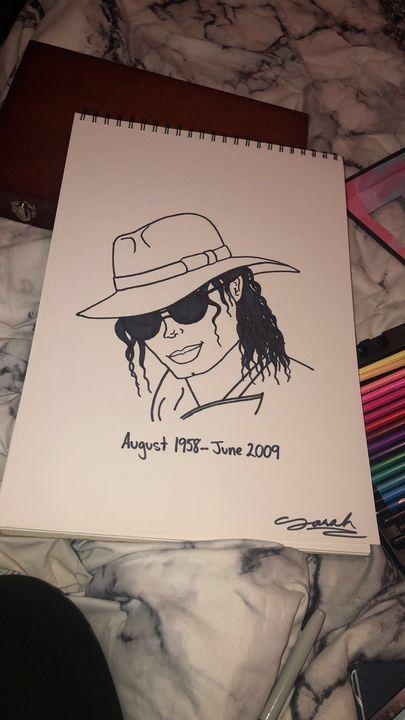 Michael Jackson - Art by Sarah