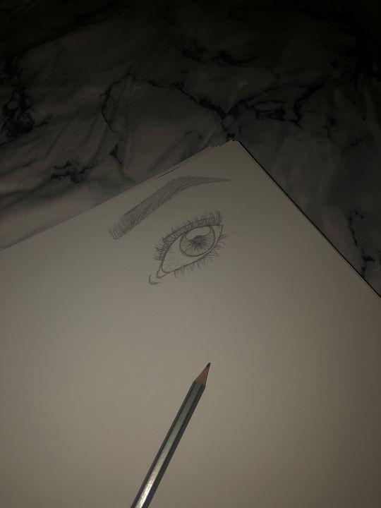 Eye Practice - Art by Sarah