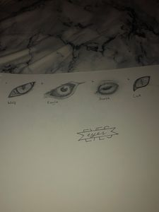 Eye Practice Sketches