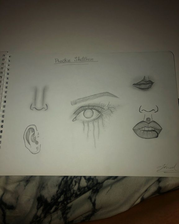 Practice Sketches - Art by Sarah