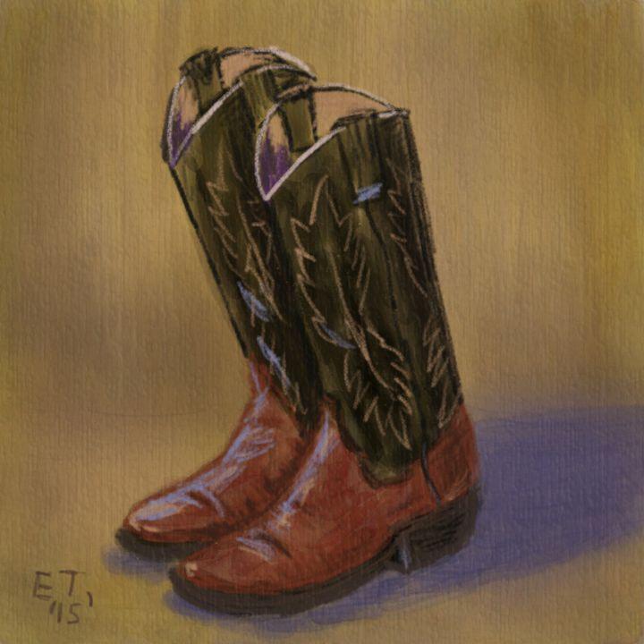 Old Boots - Ellie Taylor Artist