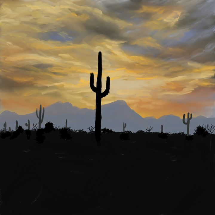 Superstition Mountains - Ellie Taylor Artist