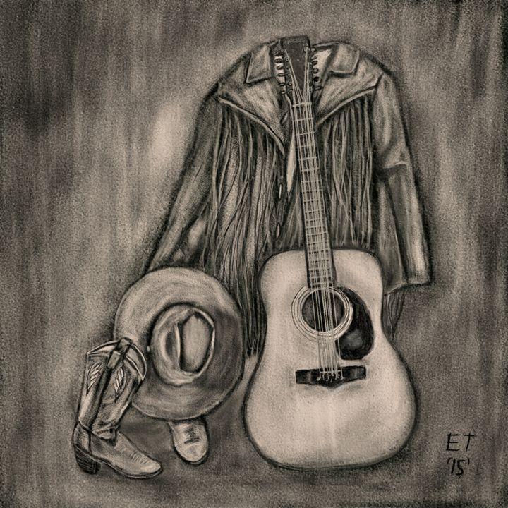 'Old Guitar' - Ellie Taylor Artist