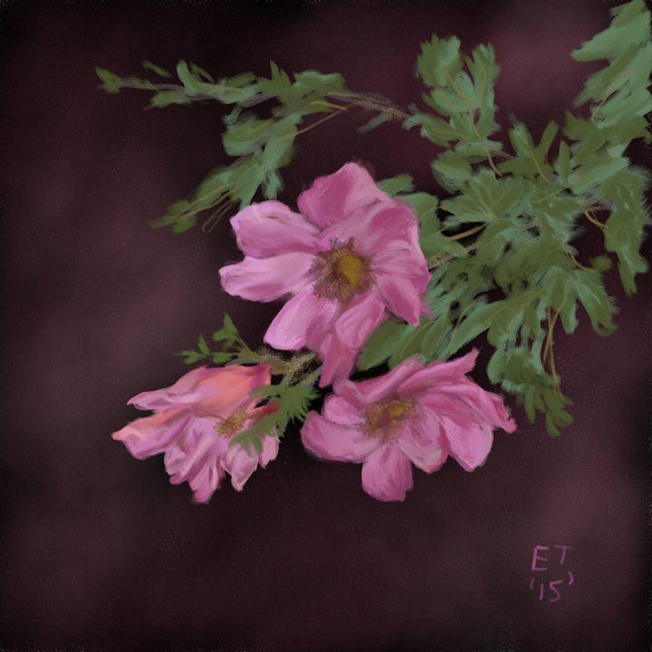 Wild Roses - Ellie Taylor Artist
