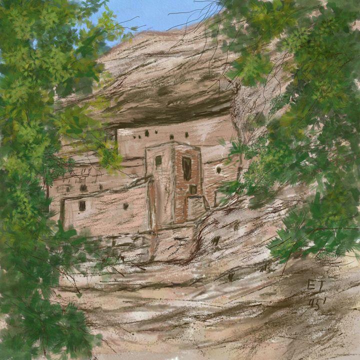 Montezuma's Castle - Ellie Taylor Artist