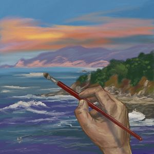 Painting the Sea