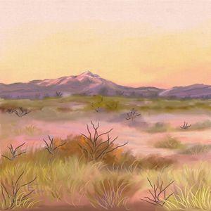 White Mountain at Twilight