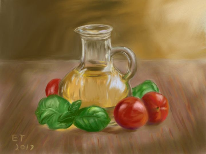 Fresh Ingredients - Ellie Taylor Artist