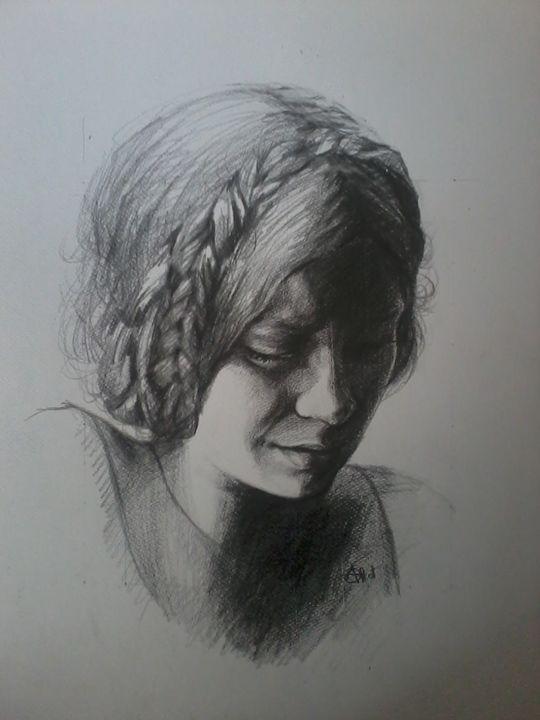 Crying girl. - Alket Zeqiri